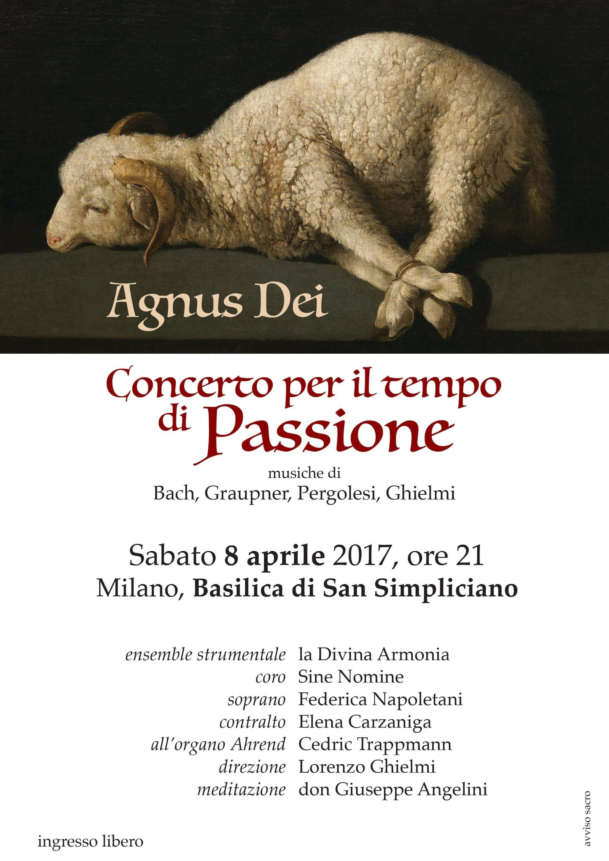 Agnus Dei - Concerto per il tempo di Passione