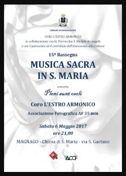 MUSICA SACRA IN S.MARIA
