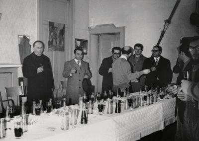 1971 - Appiano Gentile, Albergo Roma - la prima sede del Coro