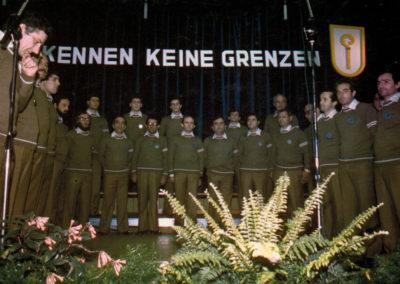 1982 - Weidentahl, la prima esibizione