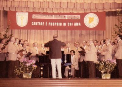 1983 - Il Coro CAECILIENVEREIN ad Appiano Gentile