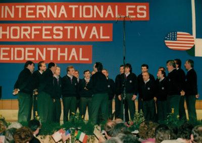 1989 - Weidenthal, 1° Festival Corale Internazionale