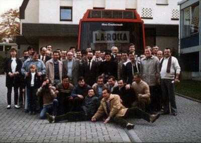 1982 - Weidenthal, il momento dei saluti